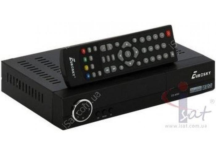 Эфирный цифровой ресивер Eurosky ES-3010 DVB-Т2