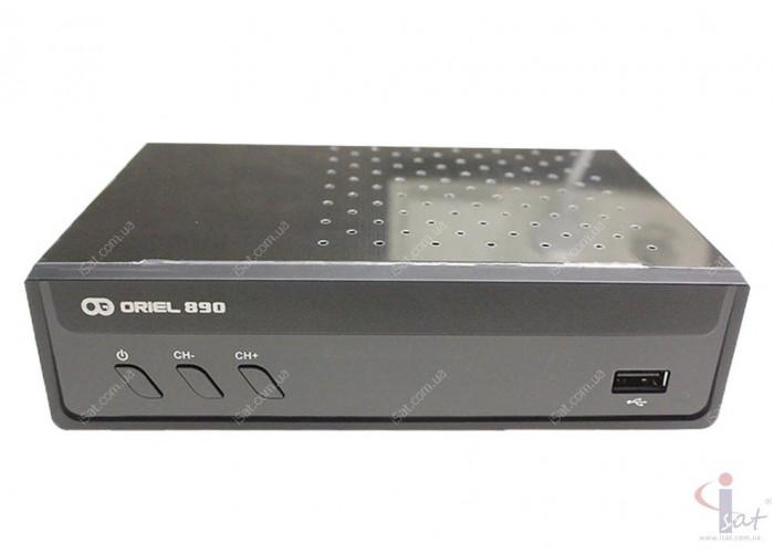 Эфирный цифровой ресивер Oriel 890 DVB-Т2