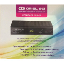 Эфирный цифровой ресивер Oriel 961 DVB-Т2