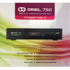 Эфирный цифровой ресивер Oriel 750 DVB-Т2