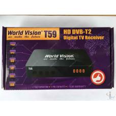 Эфирный цифровой ресивер World Vision T59