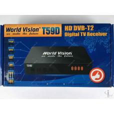 Эфирный цифровой ресивер World Vision T59D