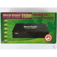 Эфирный цифровой ресивер World Vision T59M