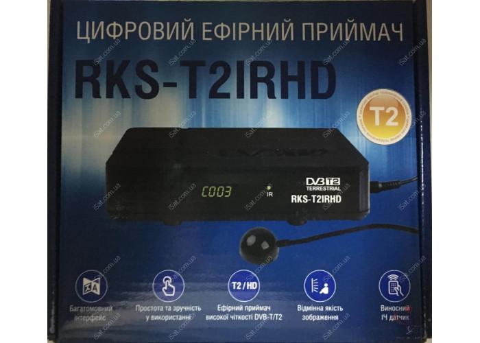 Эфирный цифровой ресивер Roks RKS-T2IRHD