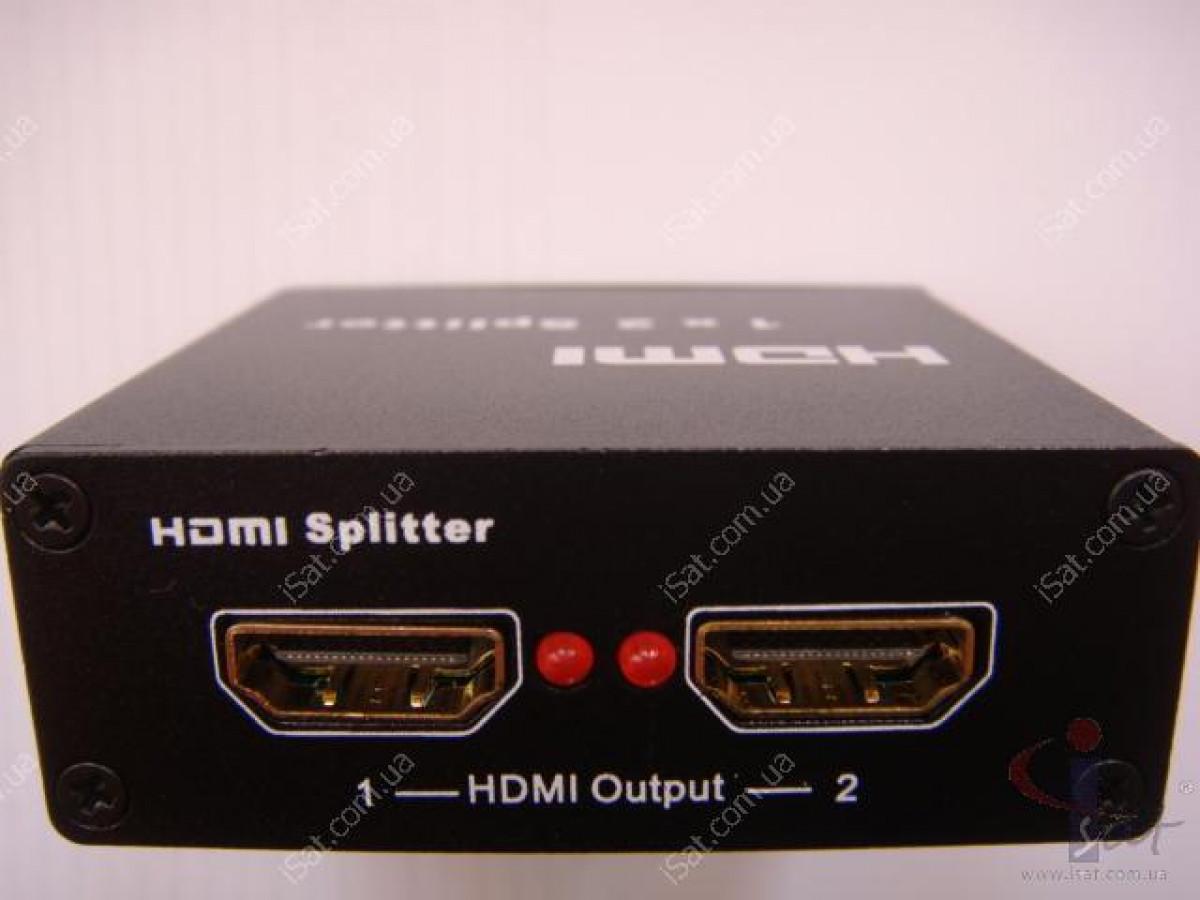 HDMI сплиттер 1x2