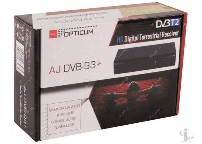 Эфирный цифровой ресивер Opticum AJ DVB-93+