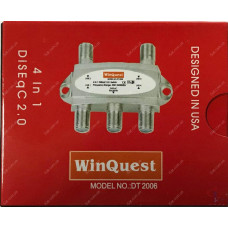 Коммутатор DiSEqC x4 WinQuest DT 2006