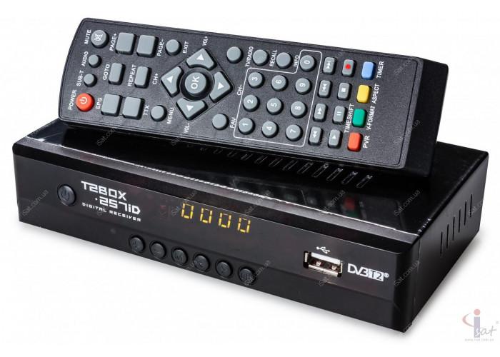 Эфирный цифровой ресивер T2BOX-257iD Internet