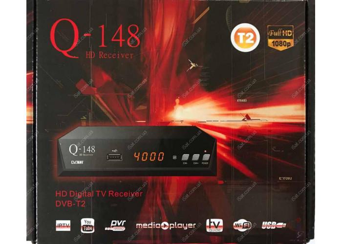Эфирный цифровой ресивер Q-Sat Q-148