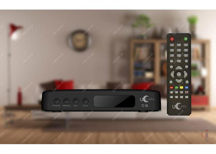 Эфирный цифровой ресивер uClan T2 HD