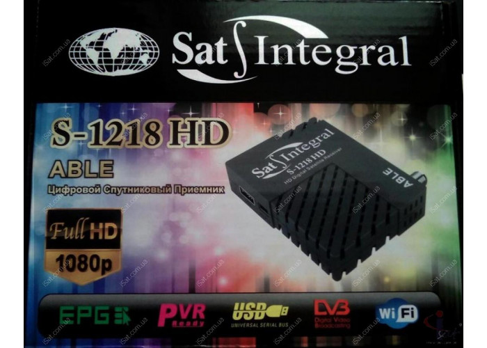 Sat-Integral S-1218 HD Able
