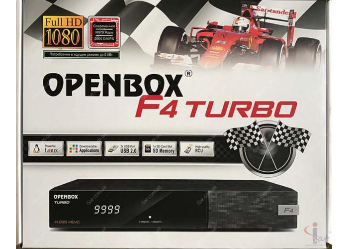 Спутниковый ресивер Openbox Formuler F4 Turbo + T2