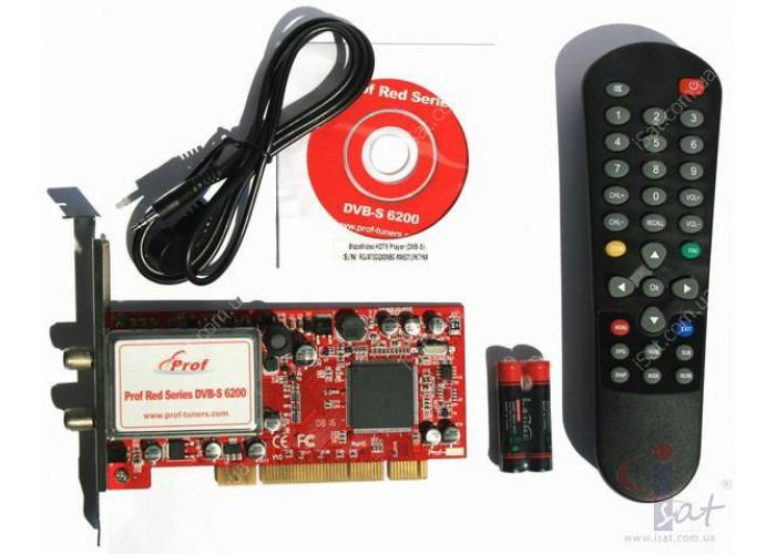 Prof Red Series DVB-S 6200 PCI