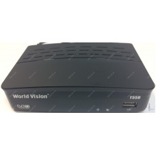 Эфирный цифровой ресивер World Vision T55D DVB-Т2