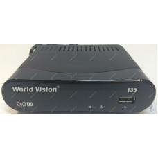 Эфирный цифровой ресивер World Vision T35 DVB-Т2