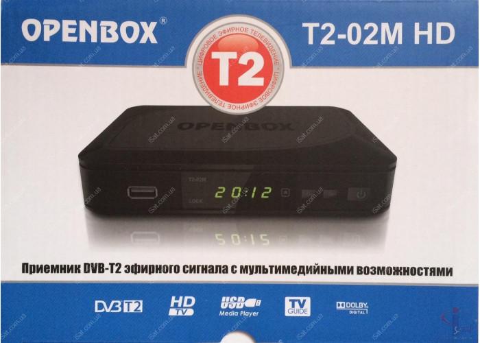 Эфирный цифровой ресивер Openbox T2-02M HD DVB-Т2